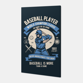 Thumbnail image of BASEBALL PLAYER - World Champion League. Canvas, Live Heroes
