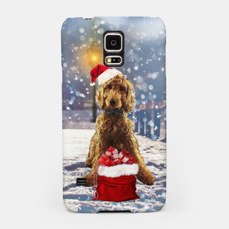 Thumbnail image of Christmas Golden Doodle Samsung Case, Live Heroes