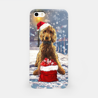 Thumbnail image of Christmas Golden Doodle iPhone Case, Live Heroes