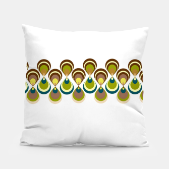Thumbnail image of Vintage paon on white 2 Almohada, Live Heroes