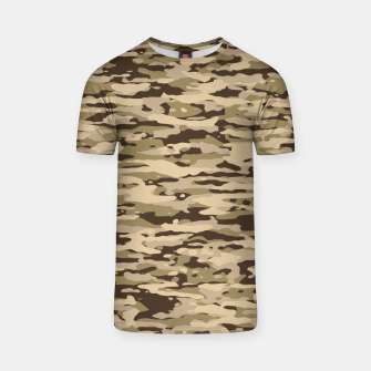 Thumbnail image of Desert Camouflage Pattern  T-Shirt, Live Heroes