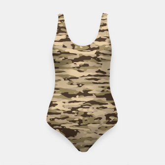 Thumbnail image of Desert Camouflage Pattern  Badeanzug, Live Heroes