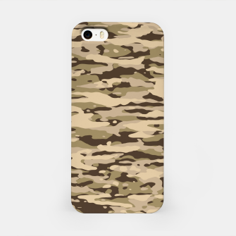 Thumbnail image of Desert Camouflage Pattern  iPhone-Hülle, Live Heroes