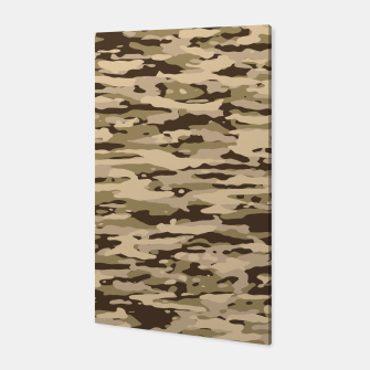 Miniatur Desert Camouflage Pattern  Canvas, Live Heroes