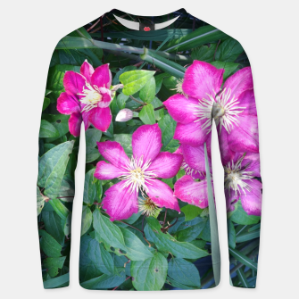 Thumbnail image of pink clematis Bluza unisex, Live Heroes