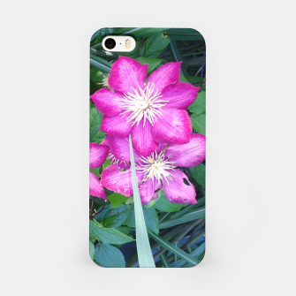 Thumbnail image of pink clematis Obudowa iPhone, Live Heroes