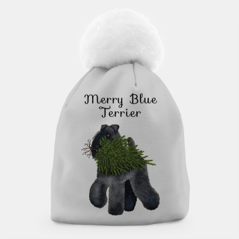 Miniature de image de Merry Blue Terrier (Yellow Background) Beanie, Live Heroes