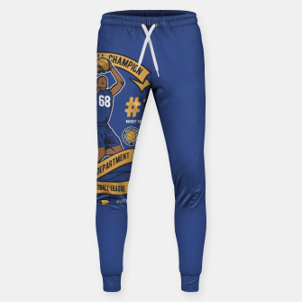 Thumbnail image of BASKETBALL CHAMPION - Athletic Department. Sweatpants, Live Heroes