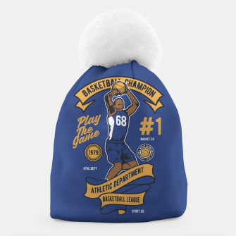 Thumbnail image of BASKETBALL CHAMPION - Athletic Department. Beanie, Live Heroes