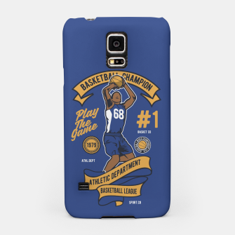 Thumbnail image of BASKETBALL CHAMPION - Athletic Department. Samsung Case, Live Heroes