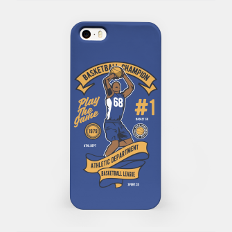 Thumbnail image of BASKETBALL CHAMPION - Athletic Department. iPhone Case, Live Heroes