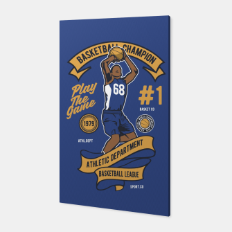 Thumbnail image of BASKETBALL CHAMPION - Athletic Department. Canvas, Live Heroes