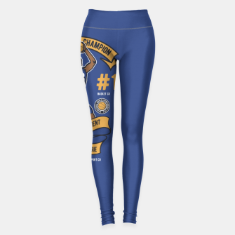 Thumbnail image of BASKETBALL CHAMPION - Athletic Department. Leggings, Live Heroes