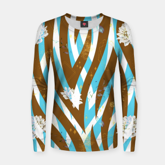 Thumbnail image of Floral Rivers Women sweater, Live Heroes