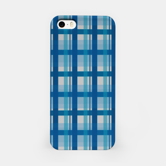 Miniatur Blue Scottish Style  Carcasa por Iphone, Live Heroes