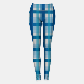 Miniatur Blue Scottish Style  Leggings, Live Heroes