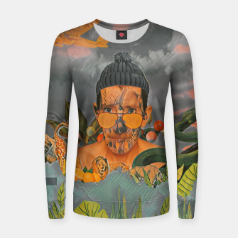 Imagen en miniatura de Animals in the jungle Women sweater, Live Heroes