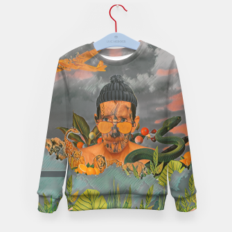 Thumbnail image of Animals in the jungle Kid's sweater, Live Heroes