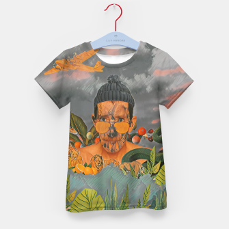 Thumbnail image of Animals in the jungle Kid's t-shirt, Live Heroes