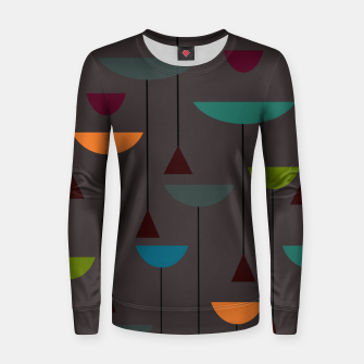 Thumbnail image of zappwaits retro Women sweater, Live Heroes