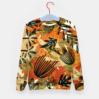Miniatur Bird Nest Fury Kid's sweater, Live Heroes