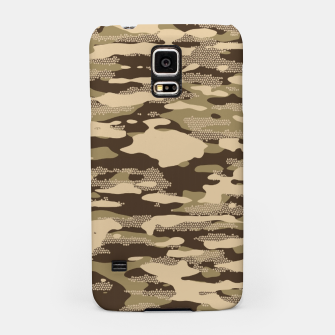 Thumbnail image of Desert Camouflage Pattern Mosaic Style Handyhülle für Samsung, Live Heroes
