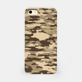 Thumbnail image of Desert Camouflage Pattern Mosaic Style iPhone-Hülle, Live Heroes