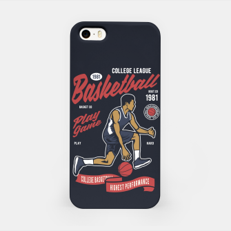 Thumbnail image of Basketball College League by ANIMOX iPhone Case, Live Heroes