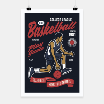 Thumbnail image of Basketball College League by ANIMOX Poster, Live Heroes