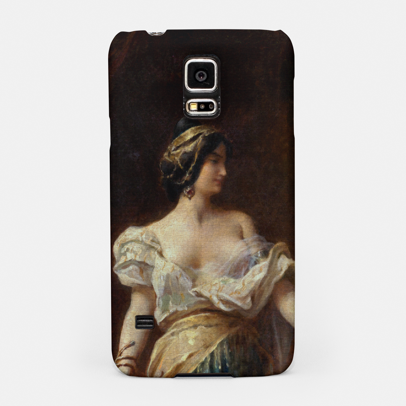 Image of The Harem by Adrien Henri Tanoux Samsung Case - Live Heroes