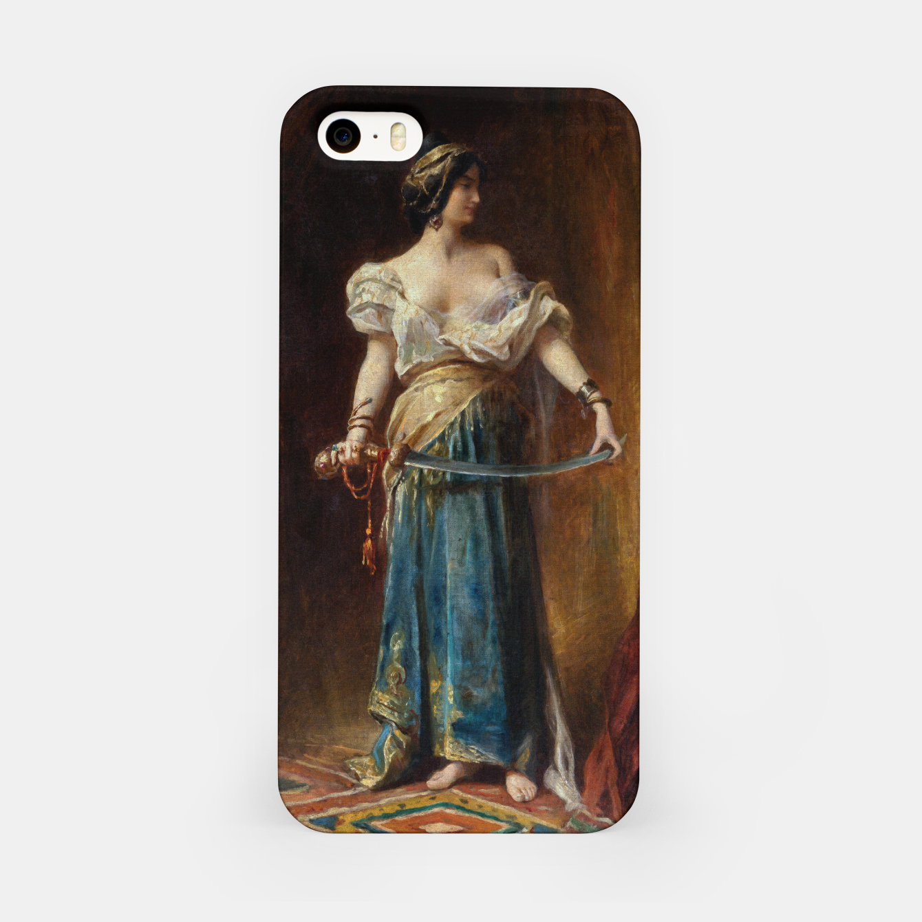Image of The Harem by Adrien Henri Tanoux iPhone Case - Live Heroes