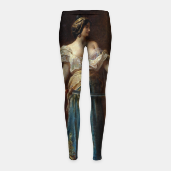 Thumbnail image of The Harem by Adrien Henri Tanoux Girl's leggings, Live Heroes