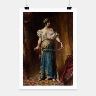 Thumbnail image of The Harem by Adrien Henri Tanoux Poster, Live Heroes