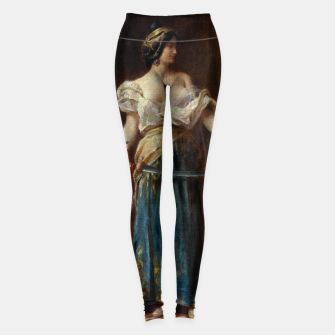 Thumbnail image of The Harem by Adrien Henri Tanoux Leggings, Live Heroes
