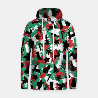 Thumbnail image of Christmas Camo WINTER WOODLAND Hoodie, Live Heroes