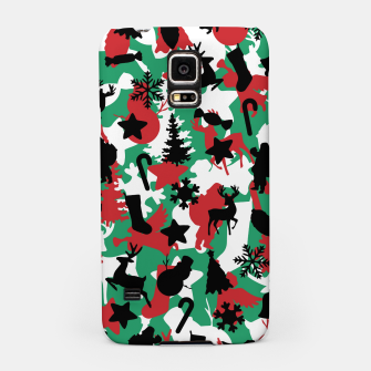 Thumbnail image of Christmas Camo WINTER WOODLAND Samsung Case, Live Heroes
