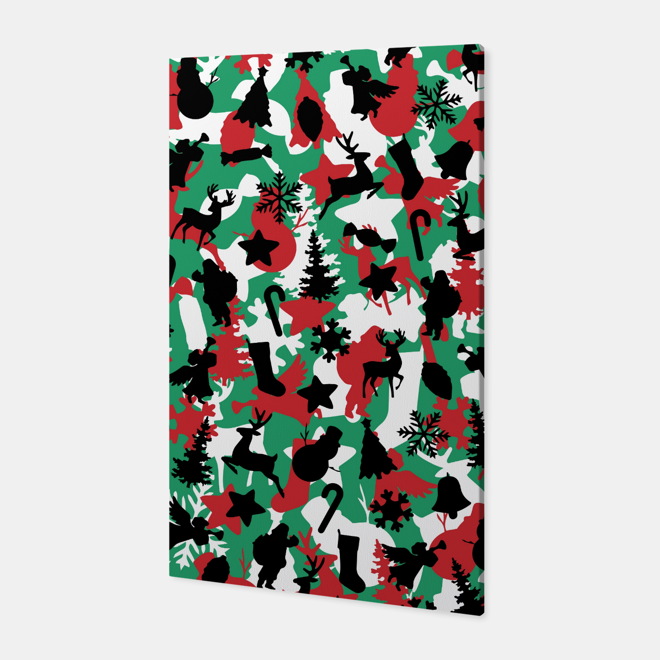 Image of Christmas Camo WINTER WOODLAND Canvas - Live Heroes
