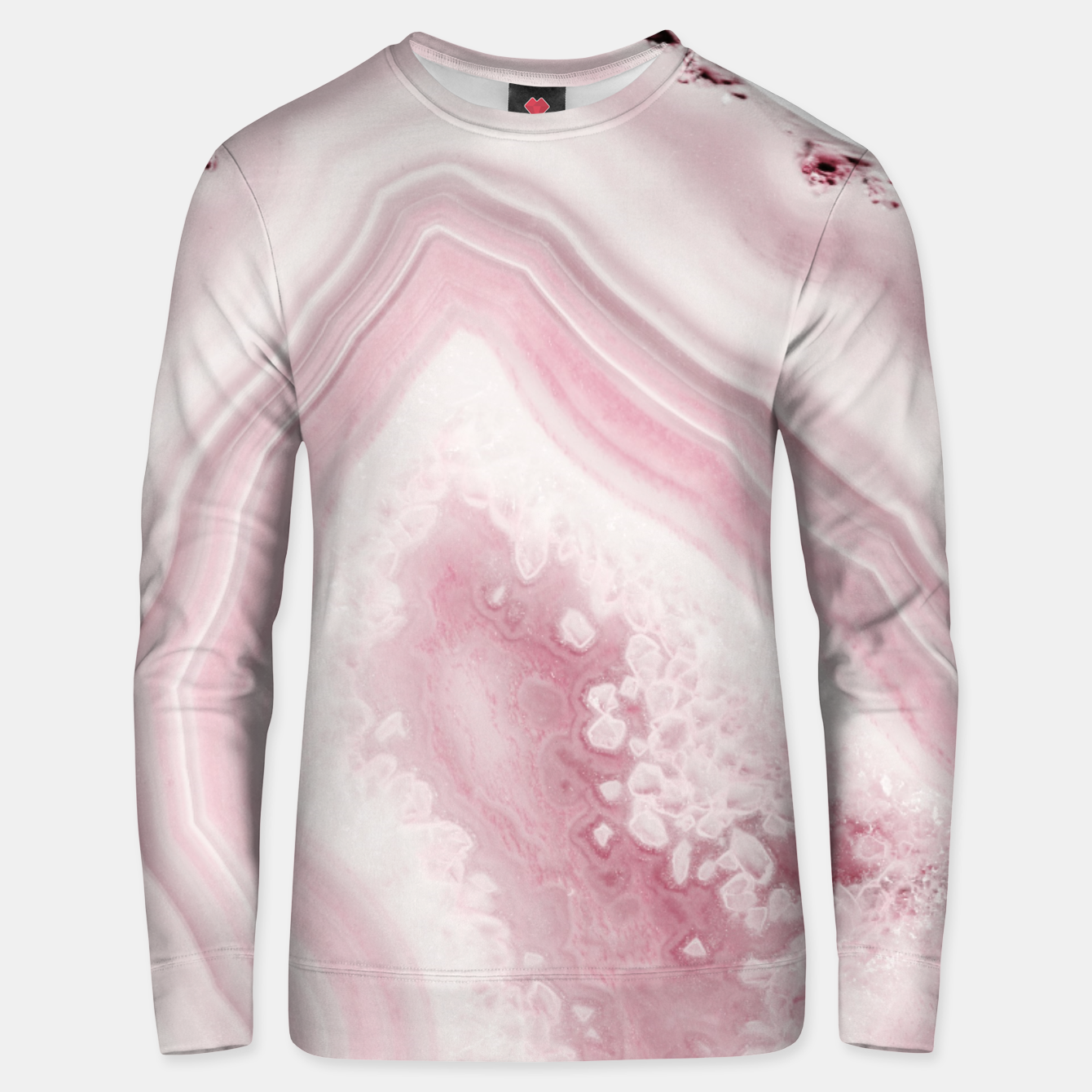Image de Blush Agate Dream #1 #gem #decor #art Unisex sweatshirt - Live Heroes