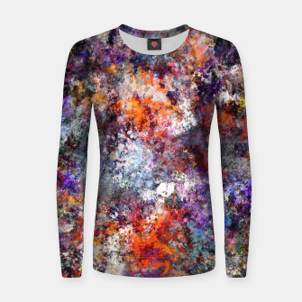 Thumbnail image of The warm cinders Women sweater, Live Heroes
