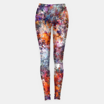 The warm cinders Leggings obraz miniatury