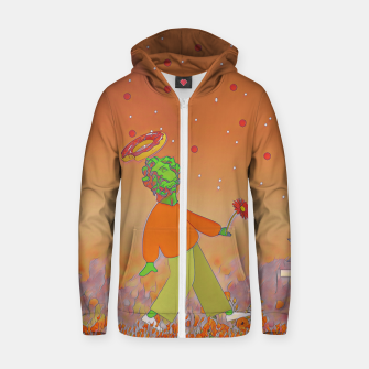 Thumbnail image of Saint donut Zip up hoodie, Live Heroes