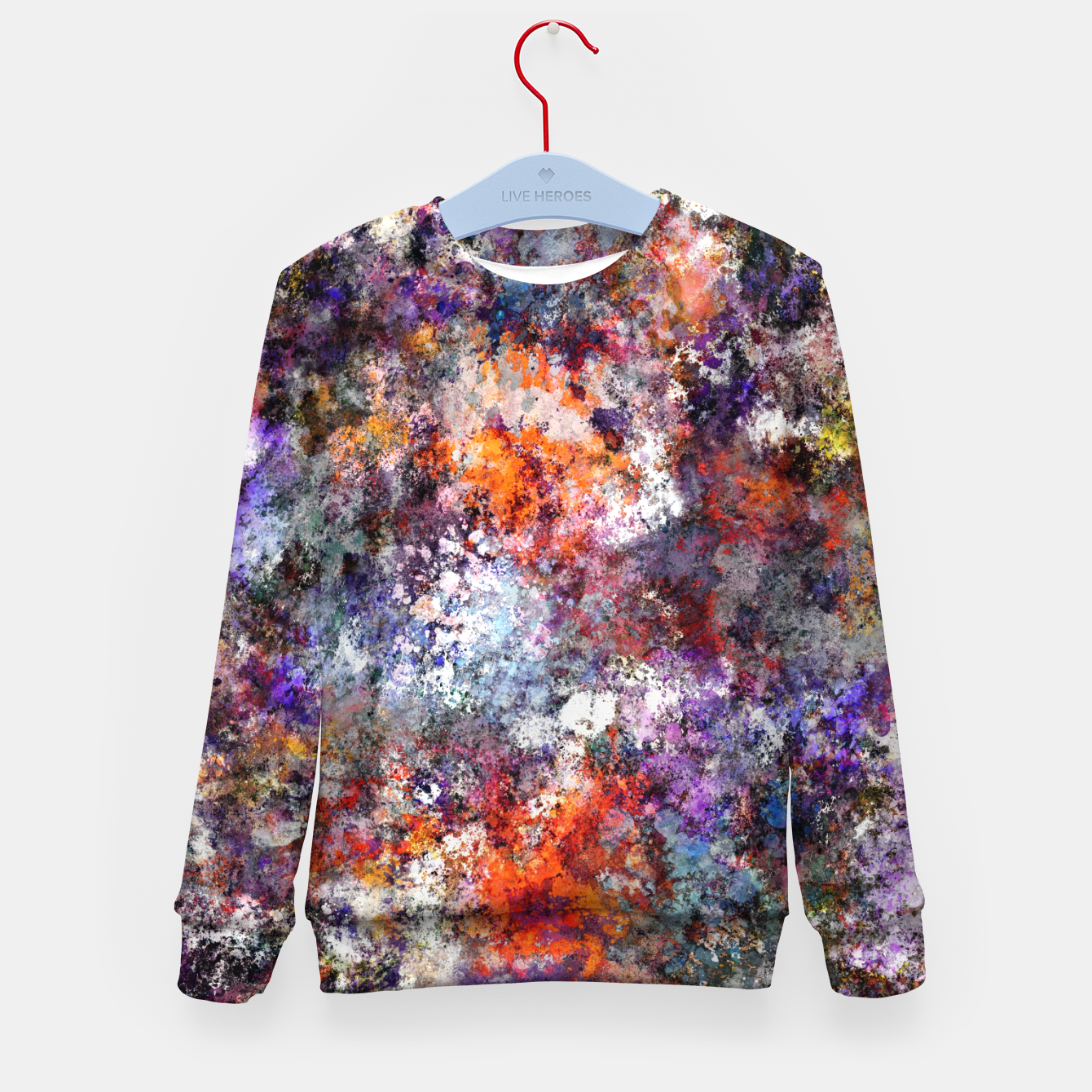 Image of The warm cinders Kid's sweater - Live Heroes