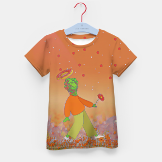 Thumbnail image of Saint donut Kid's t-shirt, Live Heroes