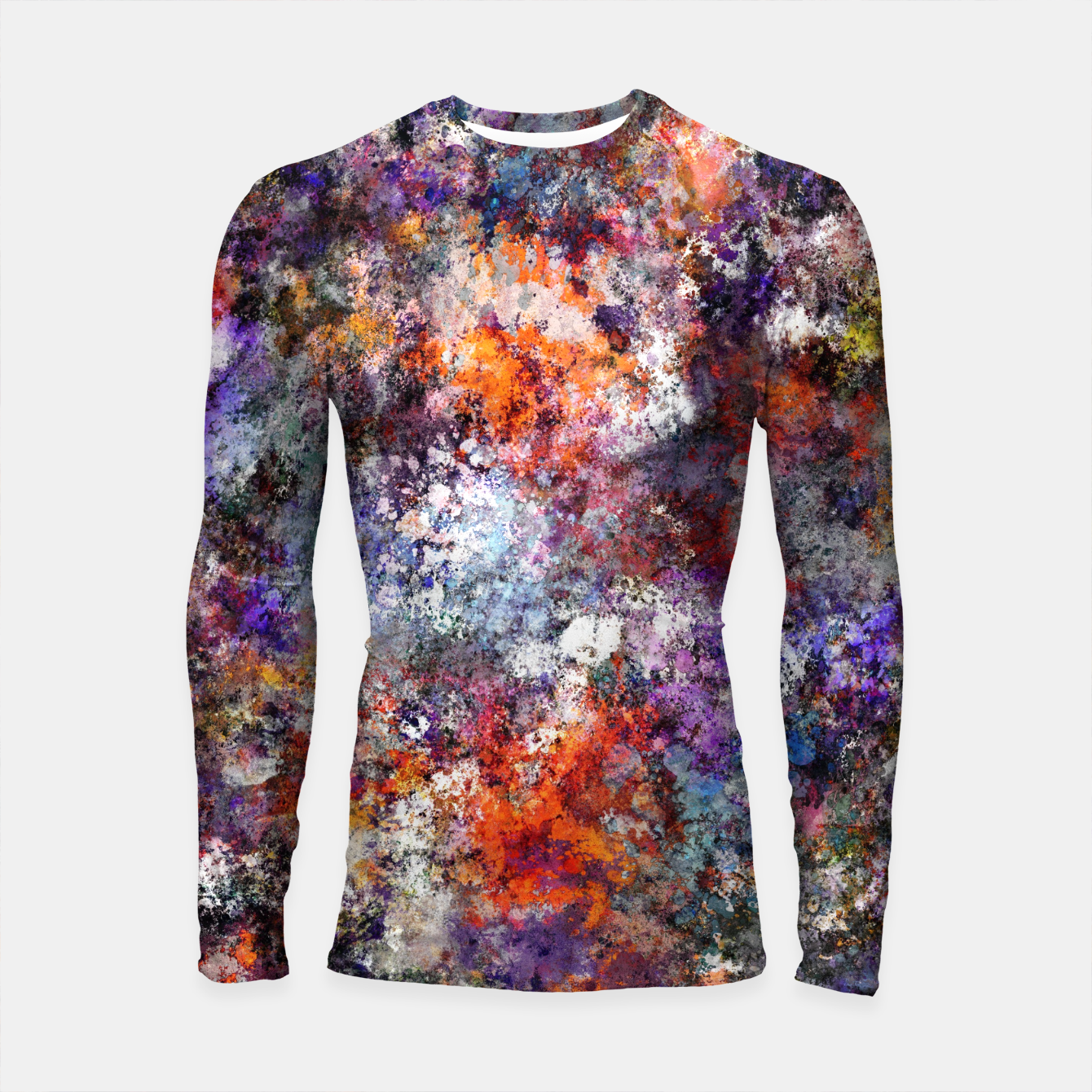 Image of The warm cinders Longsleeve rashguard  - Live Heroes