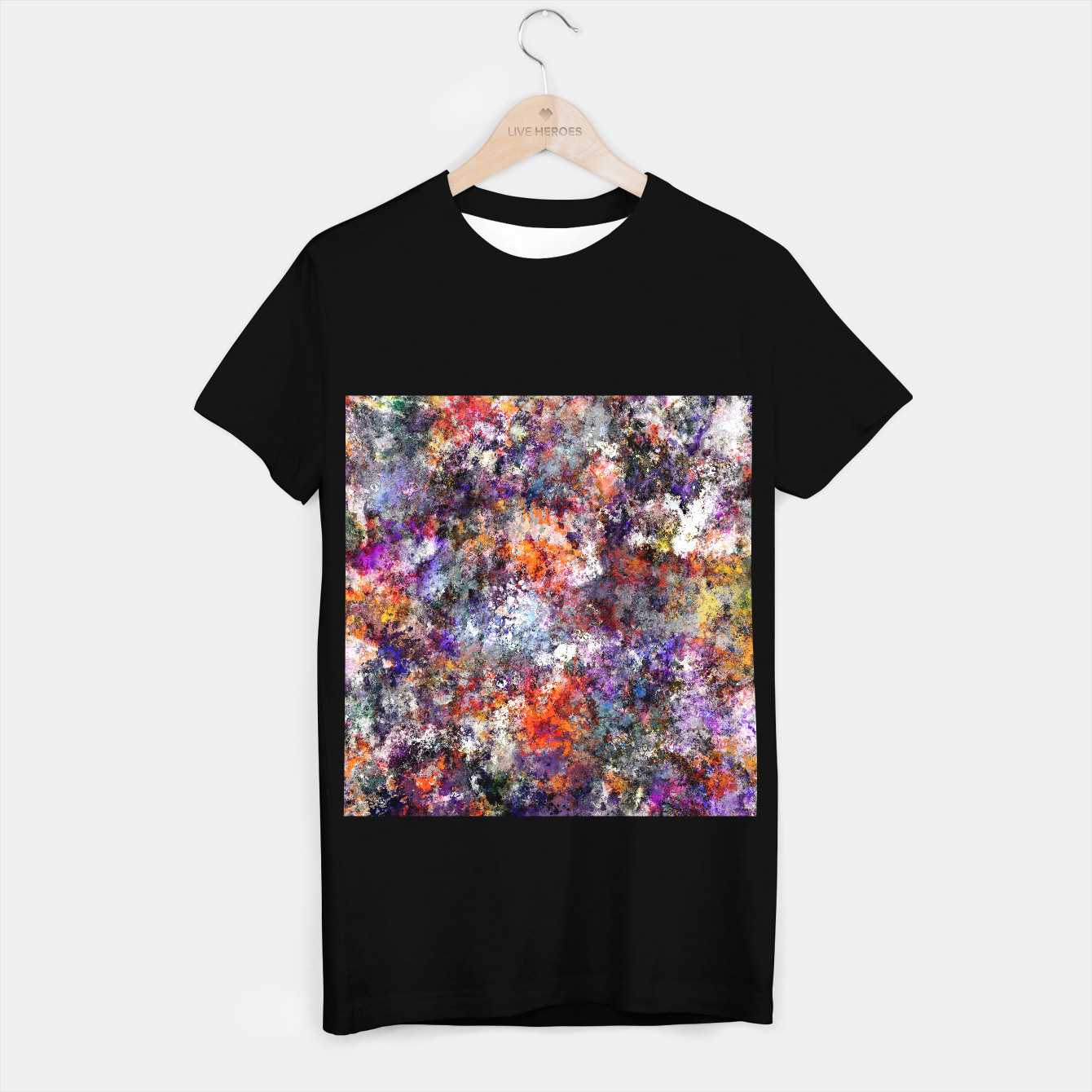 Image of The warm cinders T-shirt regular - Live Heroes