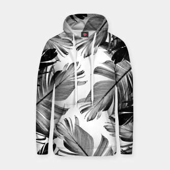 Thumbnail image of Tropical Banana Leaves Pattern #1 #tropical #decor #art  Kapuzenpullover, Live Heroes