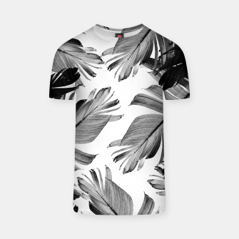 Thumbnail image of Tropical Banana Leaves Pattern #1 #tropical #decor #art  T-Shirt, Live Heroes