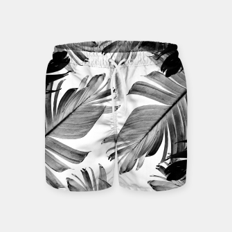 Thumbnail image of Tropical Banana Leaves Pattern #1 #tropical #decor #art  Badeshorts, Live Heroes