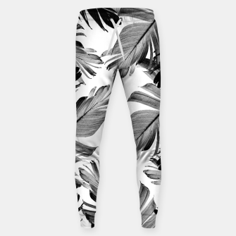 Thumbnail image of Tropical Banana Leaves Pattern #1 #tropical #decor #art  Hosen, Live Heroes