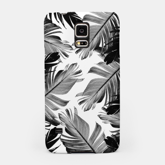 Thumbnail image of Tropical Banana Leaves Pattern #1 #tropical #decor #art  Handyhülle für Samsung, Live Heroes